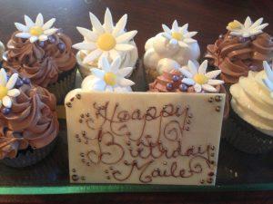 8 - Cosmopolitan Hotel Bday Cupcake
