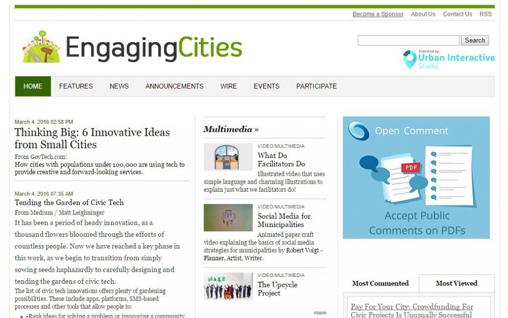 8 - Engaging Cities
