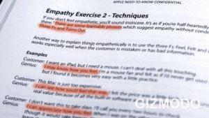 photo of Apple's Genius Training Student Workbook